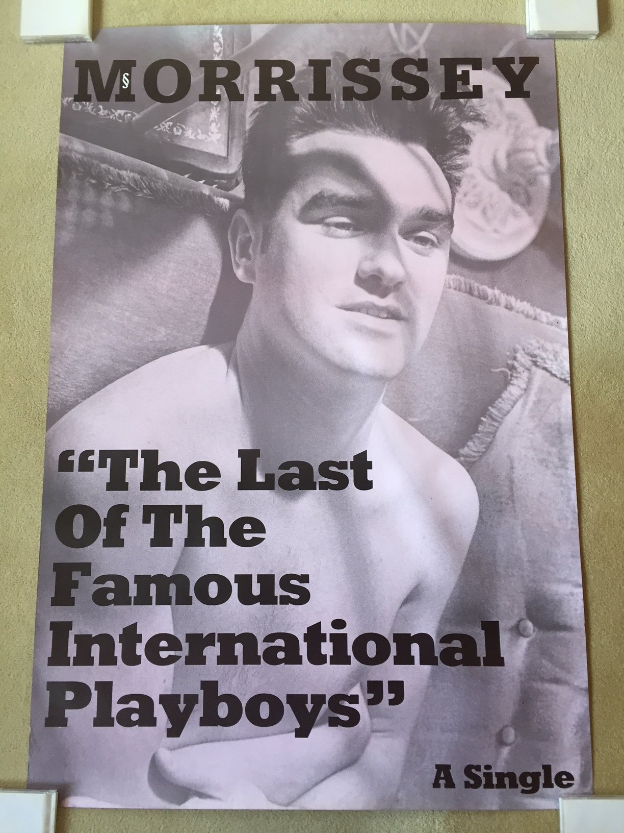 Morrissey Playboys promo poster.jpg