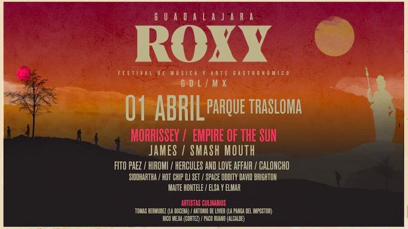 Confirmed Tty Morrissey To Play Roxy Festival In Guadalajara Mexico Apr   Morrissey Solo